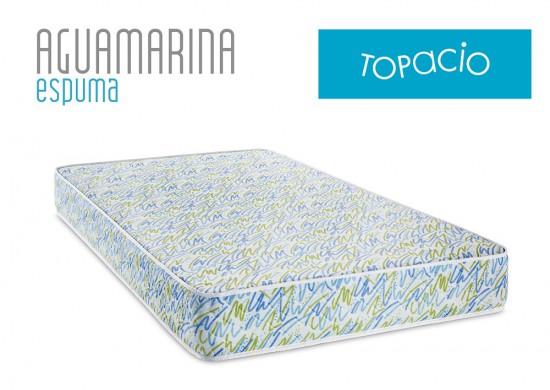 Colchon Topacio Aguamarina 1 plaza | Sommier&Colchon.com