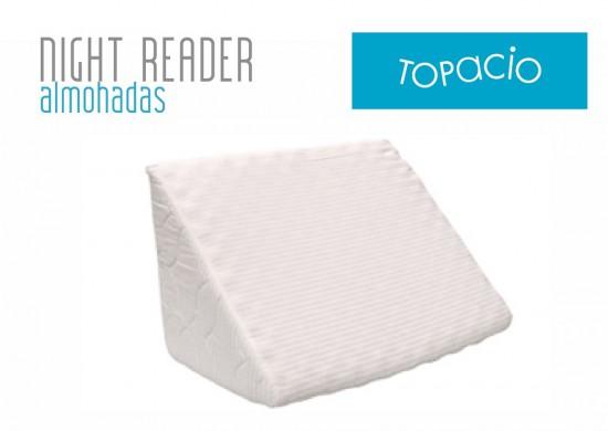 Almohada Topacio Night Reader en Sommier&Colchon.com | Auping Argentina